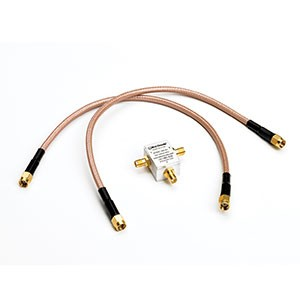 Immagine Power divider kit 18 Ghz per 9300 composto da: <br /> 1x 18 GHz, 6 dB, SMA Divider<br /> 2x Precision 30cm SMA Cable (9300)