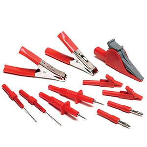 Kit sonde di test (rosse) 11 pz.