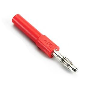 Adattatore da rivestito 4 mm a scoperto 4 mm (rosso)
