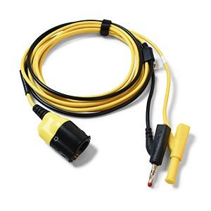 Cavo di test Premium (da PicoBNC+ a 4mm) - 5 m, giallo