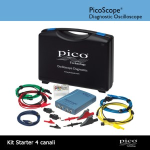 Kit Diagnostico Starter 4 canali con PicoScope 4423