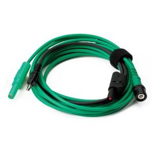 Cavo premium (da BNC a 4mm) m.3, verde