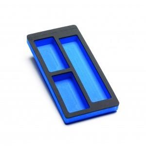 Cassetto preformato per 4 HT extensions + breakout leads (390x185mm)