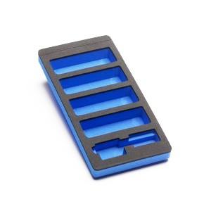 Cassetto preformato per cavetti a 6 vie (390x185mm)