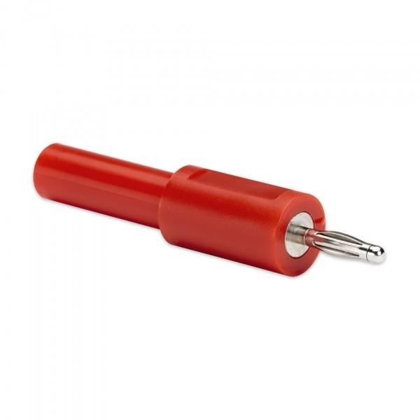 Adattatore da rivestito 4 mm a scoperto 2 mm (rosso)