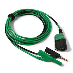 Cavo premium (da PicoBNC+ a 4mm) m.3, verde